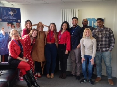 MedicsPro Does Red Nose Day!